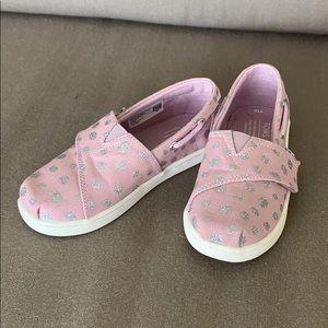 TOMS Bimini Slip-On Sneaker in Glitter Foil